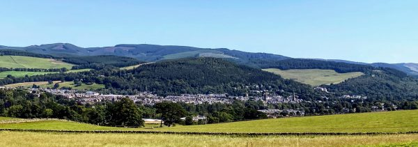 View of Peebles