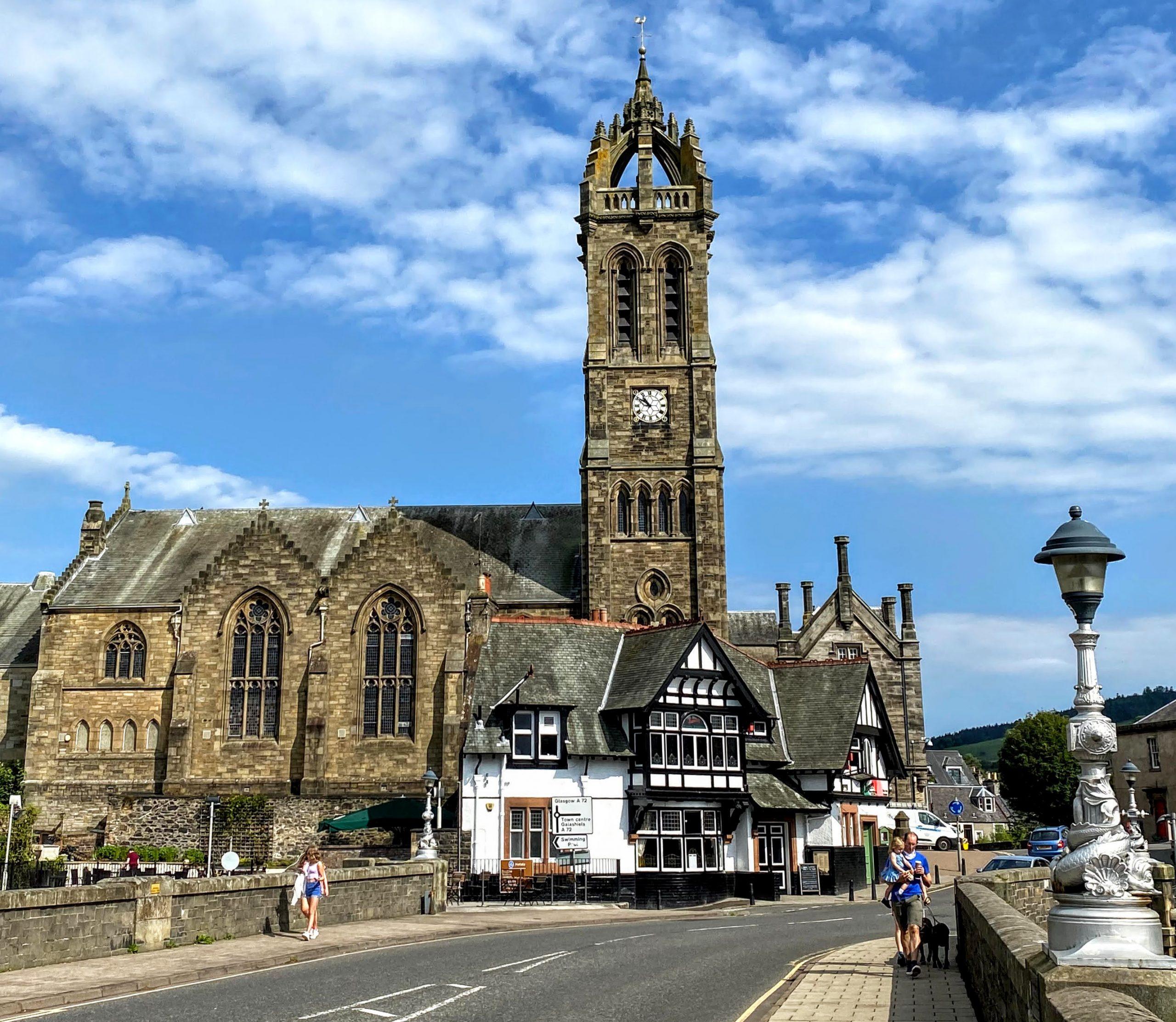 Church from Tweed bridge