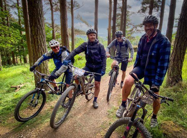 Mountain biking in Peebles