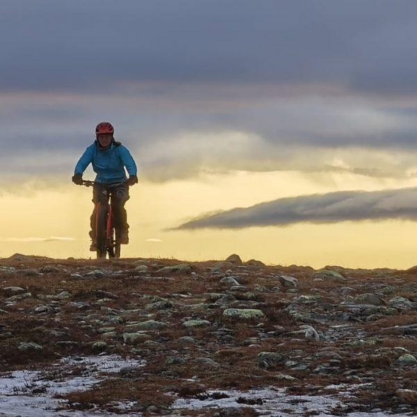 Mountain biking Minch Moor