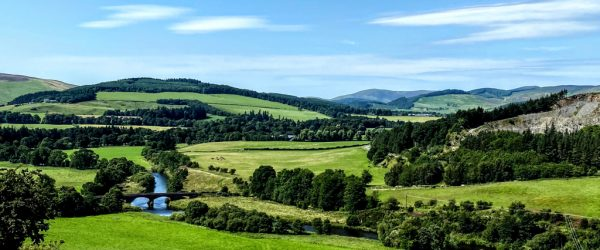 Tweed valley near Peebles