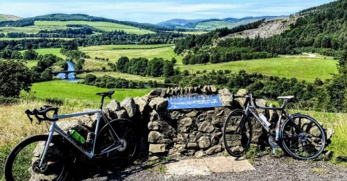 Cycling Scottish Borders